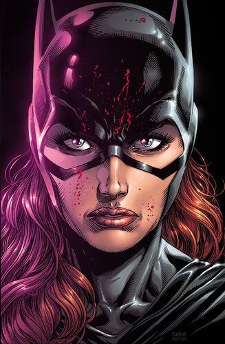 Textless Batgirl Variant