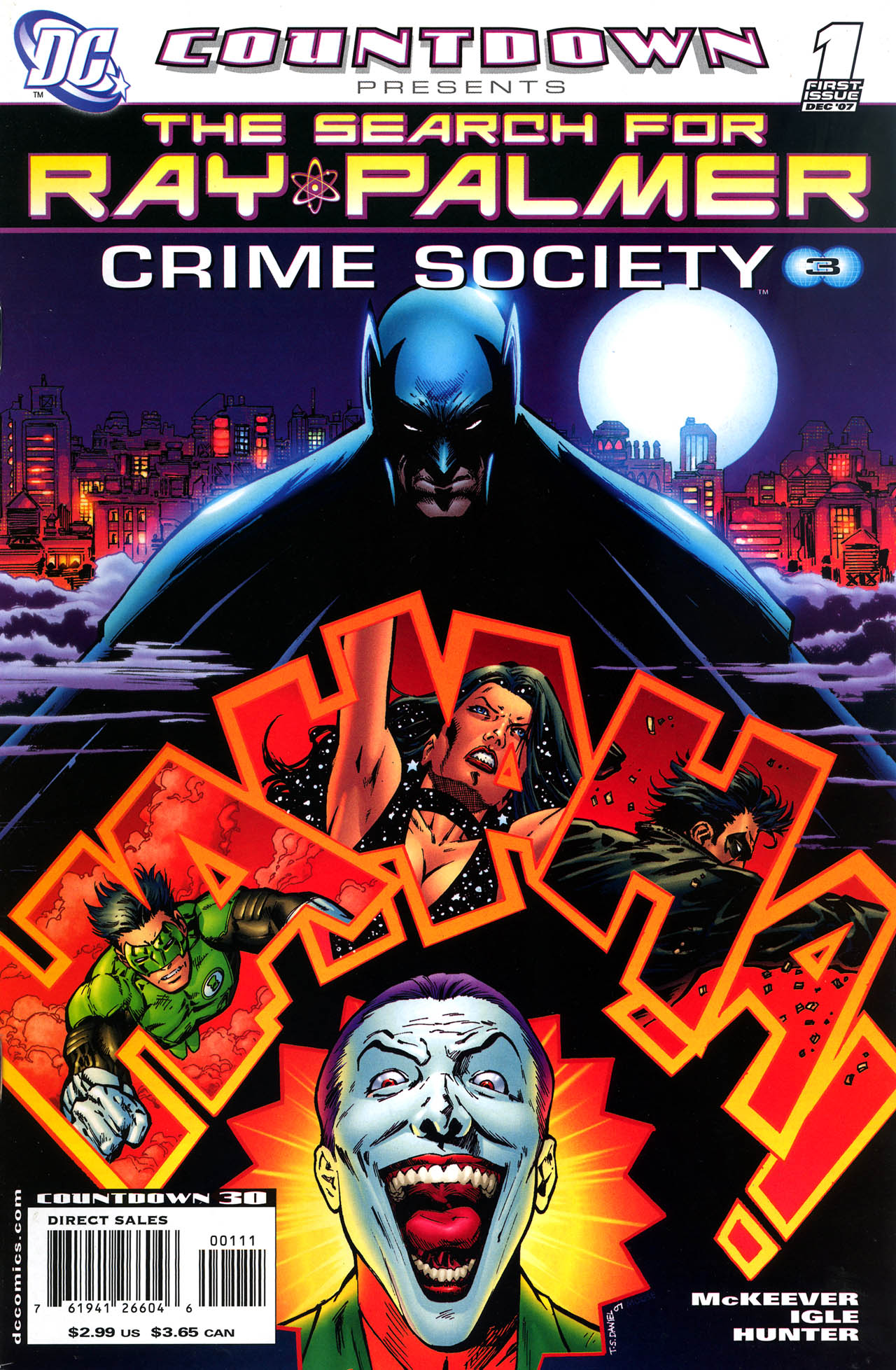 Countdown Presents: The Search for Ray Palmer: Crime Society Vol 1 1
