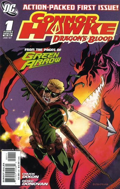Connor Hawke: Dragon's Blood Vol 1 1