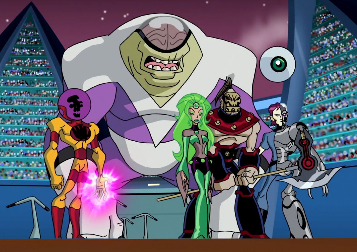 Fatal Five (Legion of Super-Heroes TV Series)/Gallery