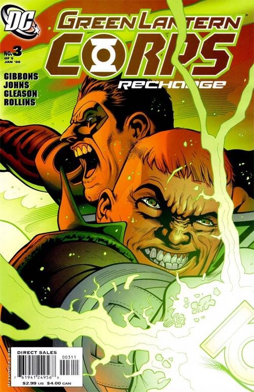 Green Lantern Corps: Recharge Vol 1 3