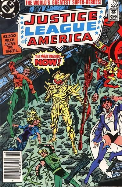 Justice League of America Vol 1 229