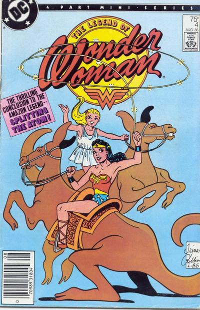 The Legend of Wonder Woman Vol 1 4