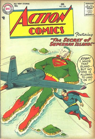 Action Comics Vol 1 224
