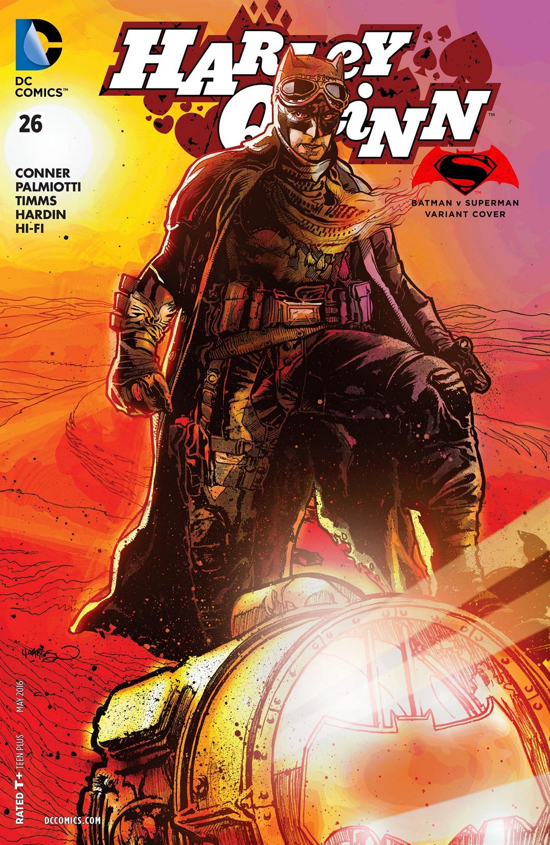 Harley Quinn Vol 2 26 Batman v Superman Variant.jpg