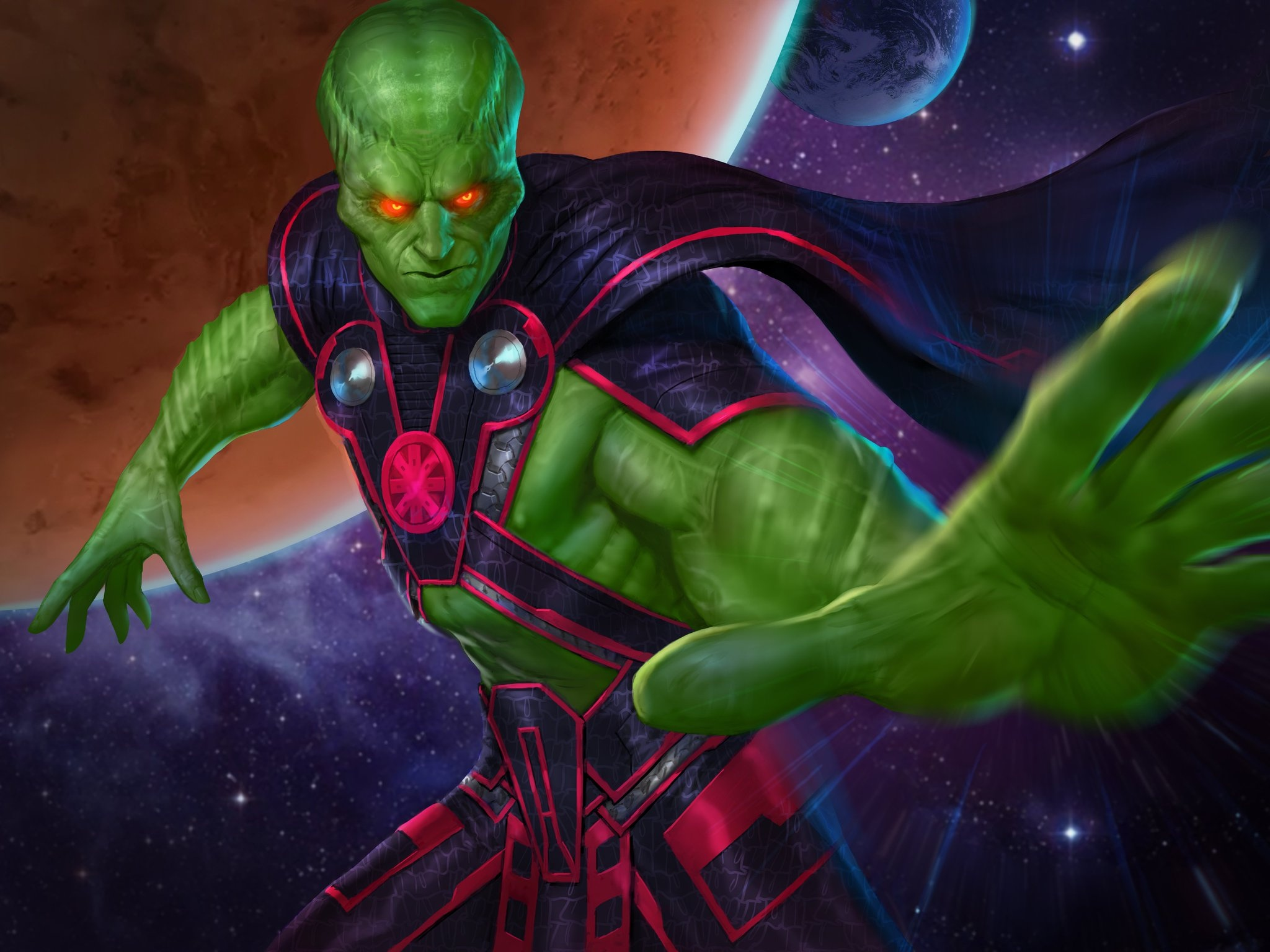 J'onn J'onzz (DC Legends)