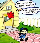 Madam Rouge Tiny Titans 0001