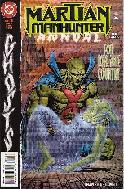 Martian Manhunter Annual Vol 2 1