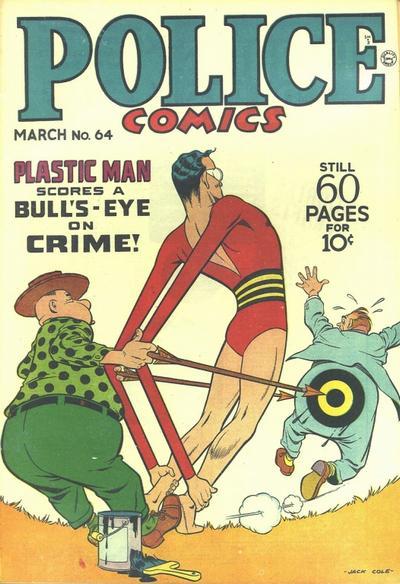 Police Comics Vol 1 64