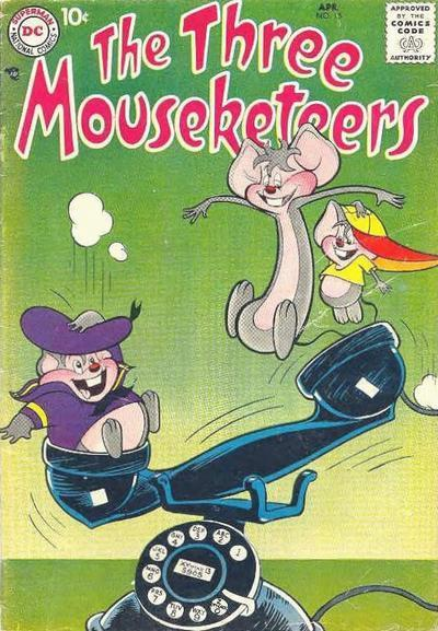 The Three Mouseketeers Vol 1 15