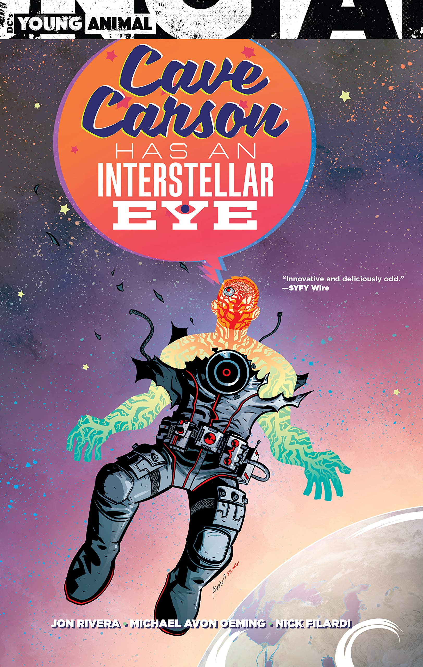 Cave Carson Has an Interstellar Eye (Collected)