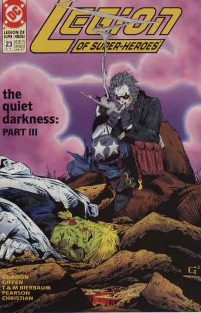 Legion of Super-Heroes: The Quiet Darkness
