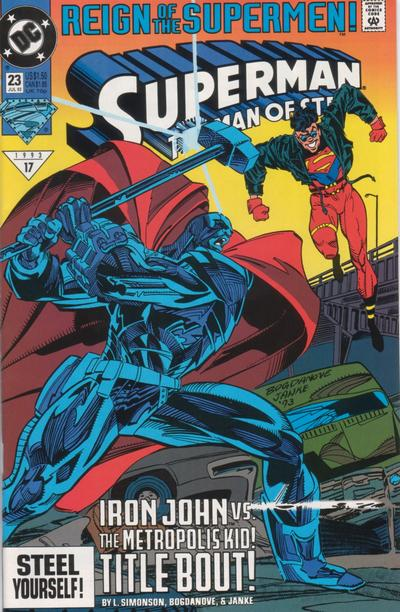 Superman: The Man of Steel Vol 1 23