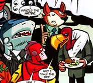 Terrible Trio DC Super Friends 001