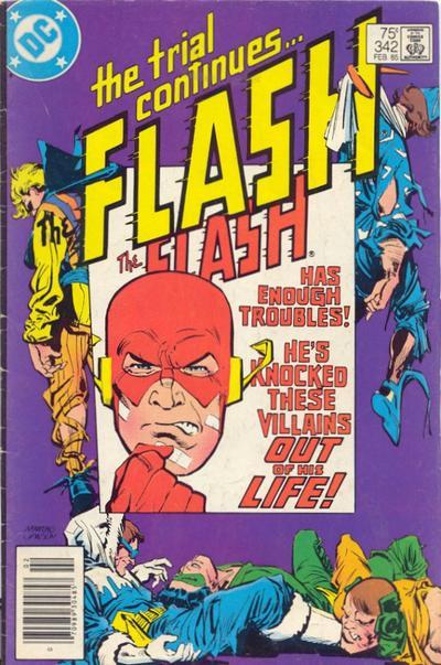 The Flash Vol 1 342