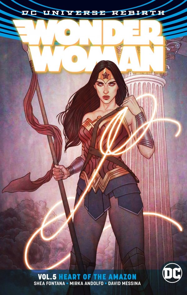 Wonder Woman: Heart of the Amazon (Collected)
