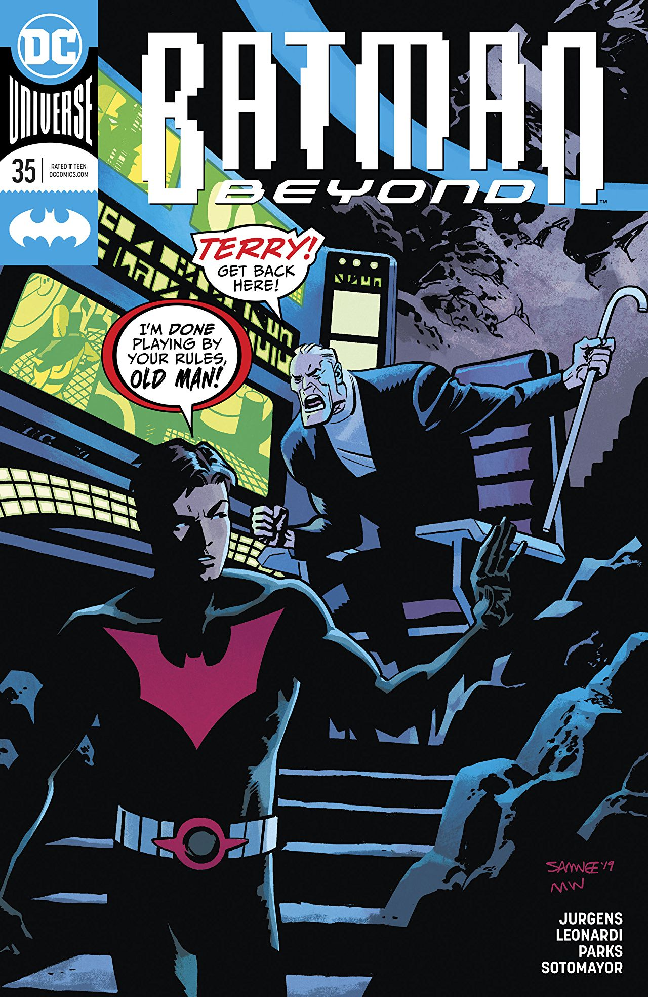 Batman Beyond Vol 6 35