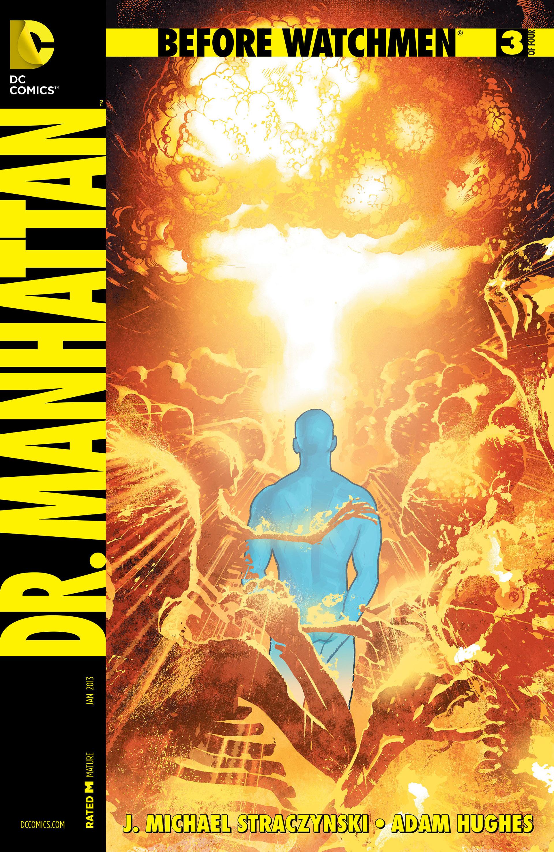 Before Watchmen: Doctor Manhattan Vol 1 3