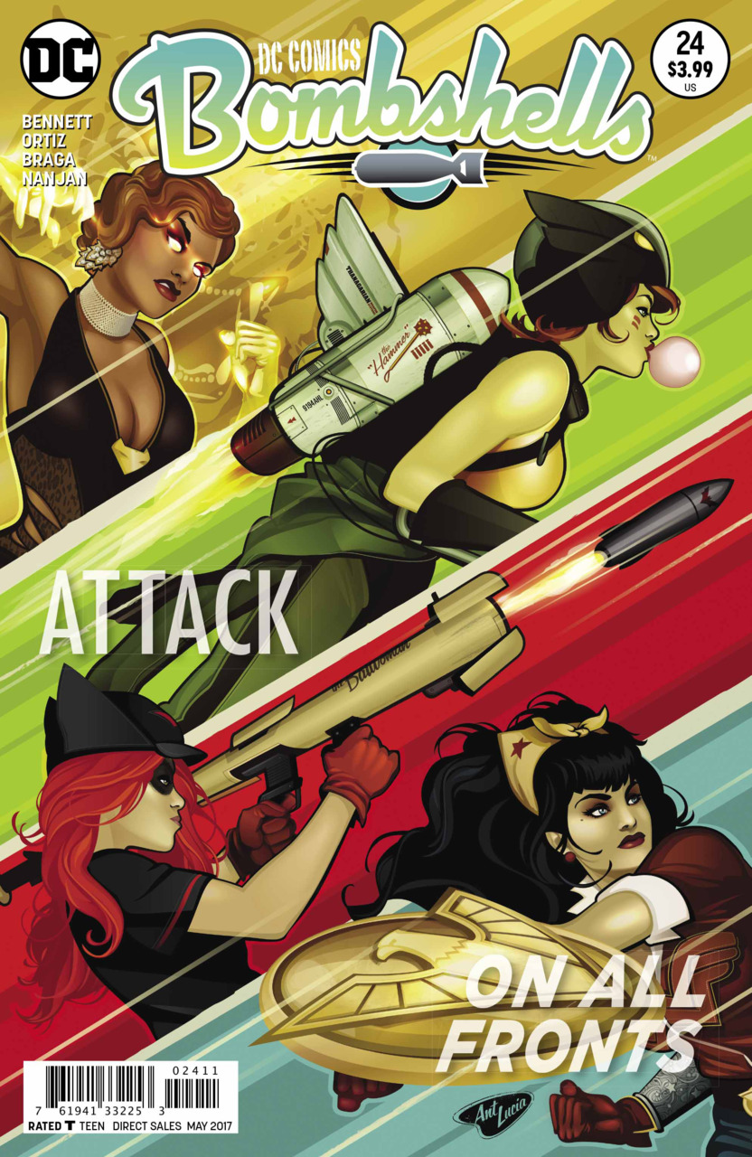 DC Comics Bombshells Vol 1 24