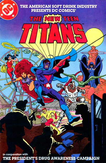 New Teen Titans Drug Awareness Special (NSDI)
