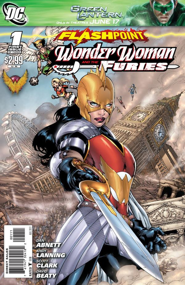Flashpoint: Wonder Woman and the Furies Vol 1