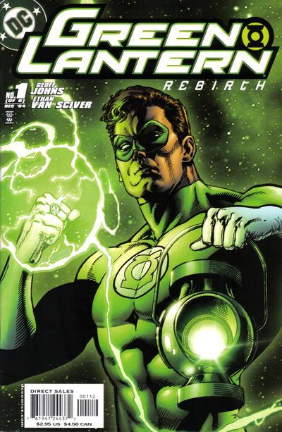 Green Lantern: Rebirth Vol 1