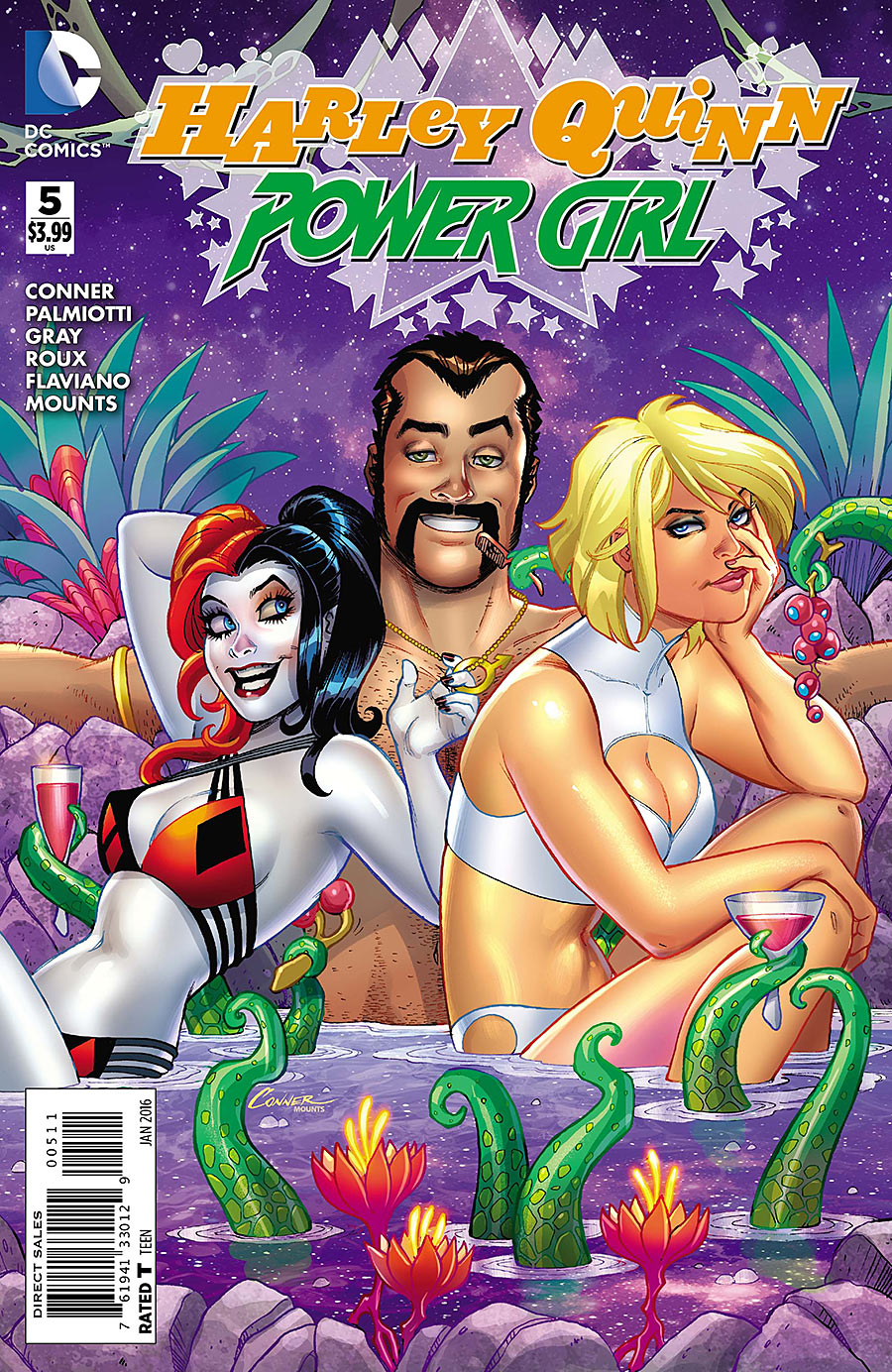 Harley Quinn and Power Girl Vol 1 5