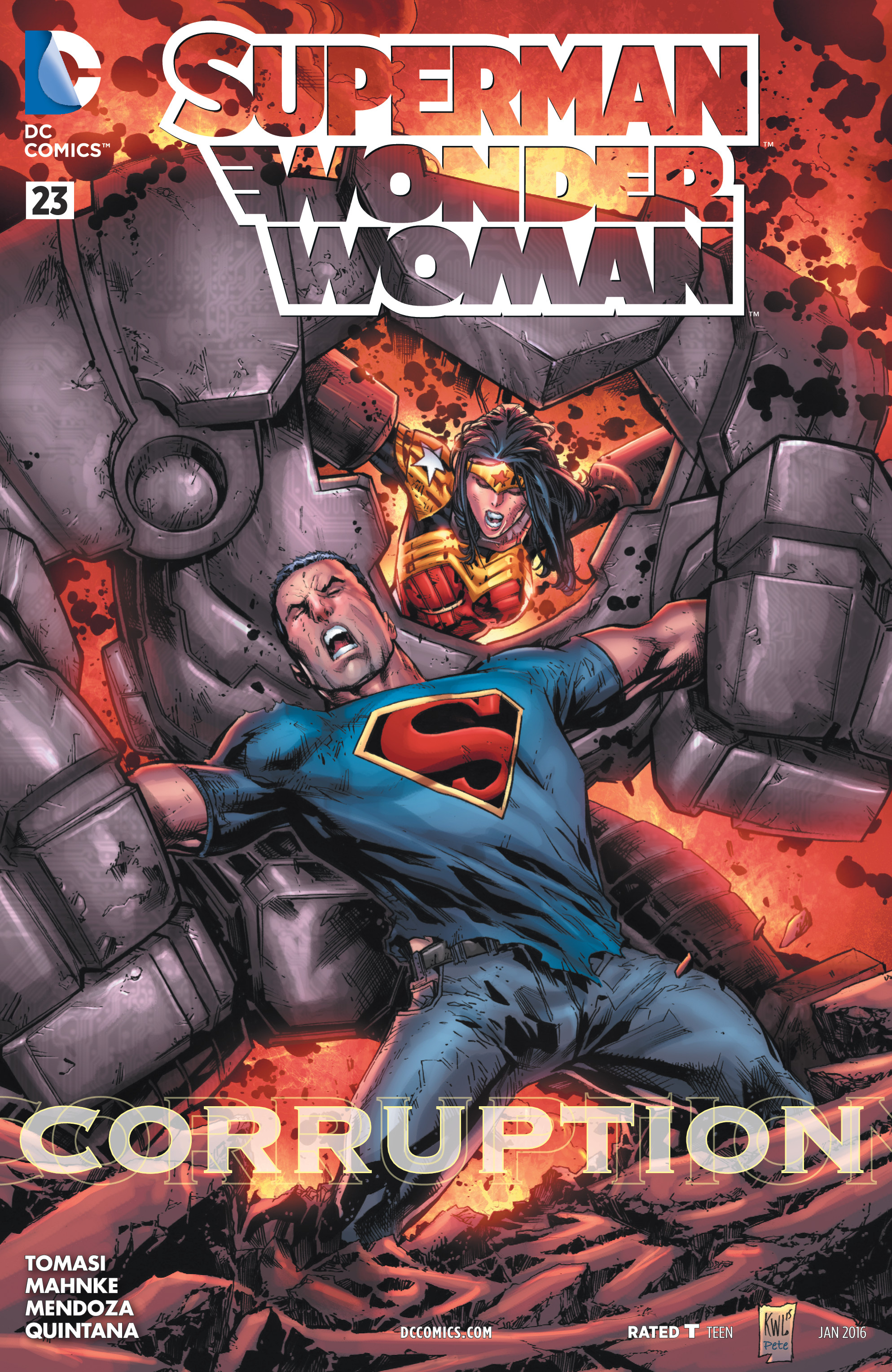 Superman/Wonder Woman Vol 1 23