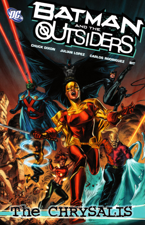 Batman and the Outsiders: The Chrysalis (Collected)