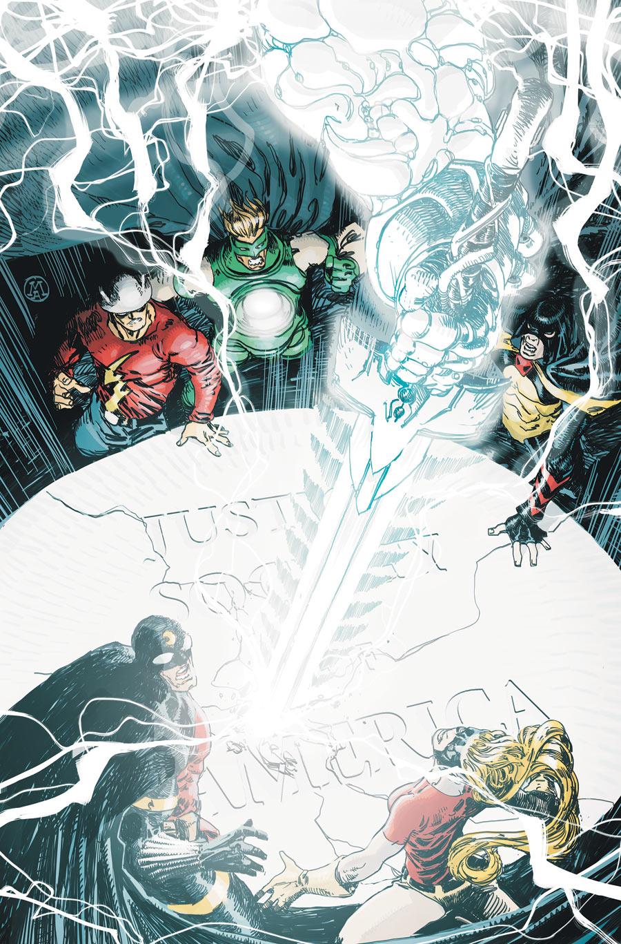 Justice Society of America Vol 3 53 Textless.jpg