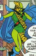 Martian Manhuntress Dark Knight of the Golden Kingdom