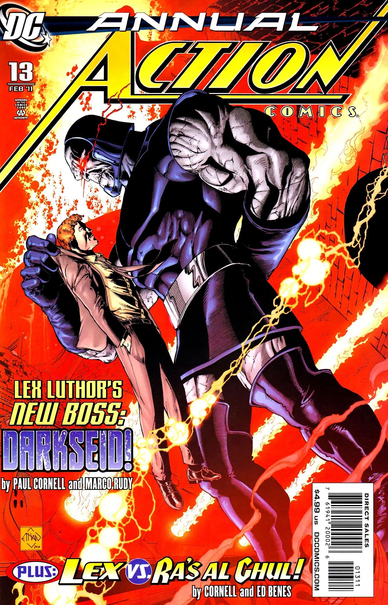 Action Comics Annual Vol 1 13