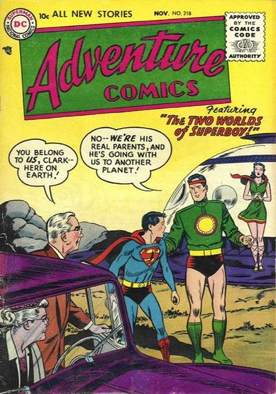 Adventure Comics Vol 1 218