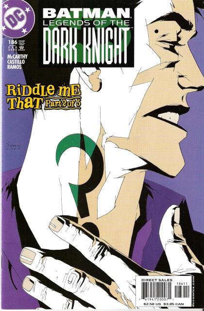Batman: Legends of the Dark Knight Vol 1 186