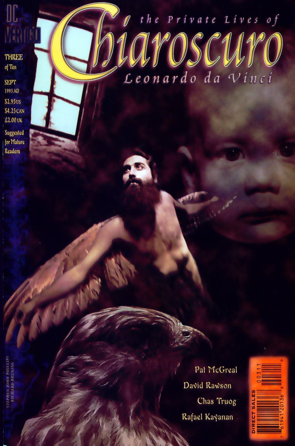 Chiaroscuro: The Private Lives of Leonardo da Vinci Vol 1 3