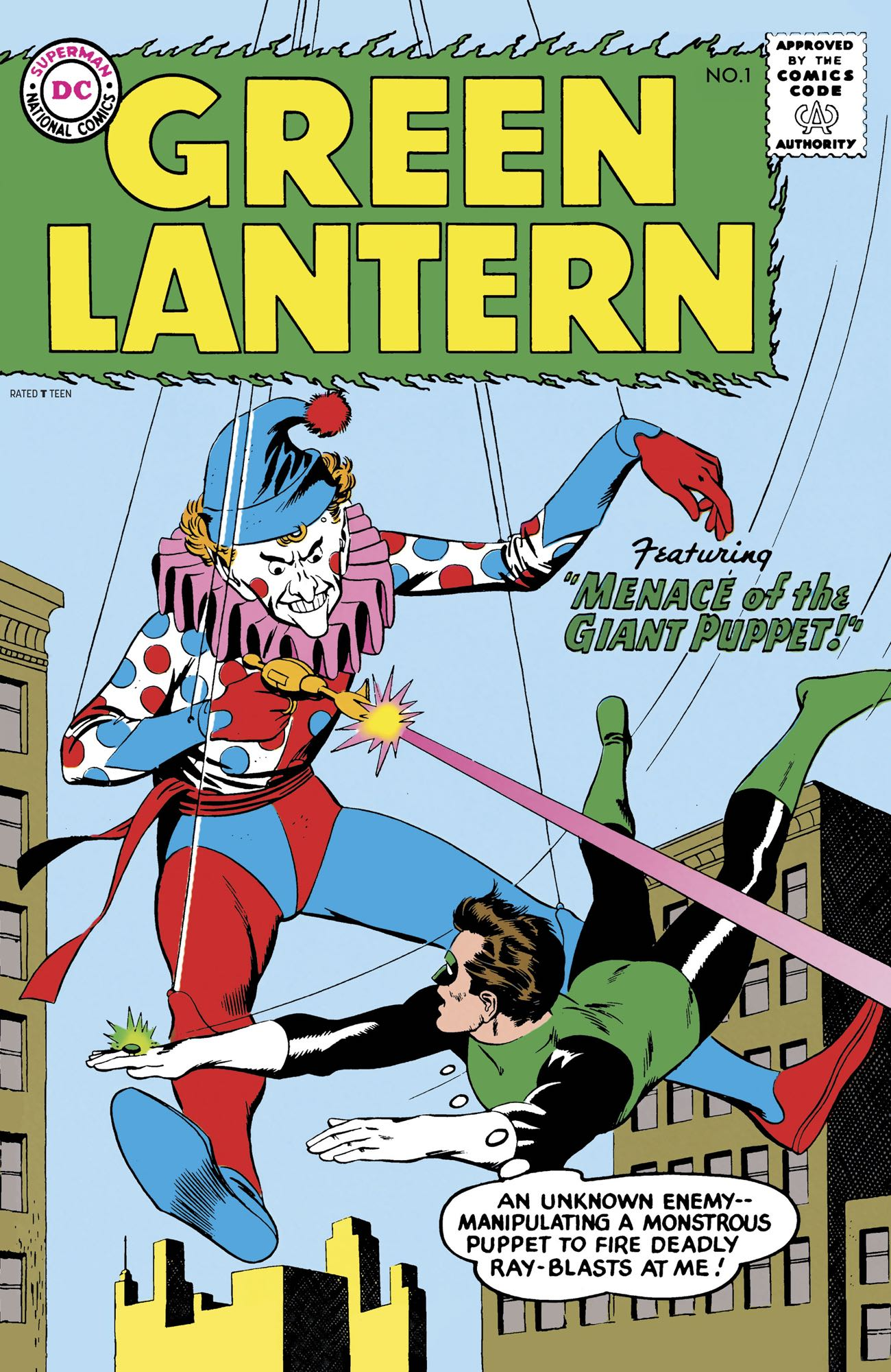 Facsimile Edition: Green Lantern Vol 2 1
