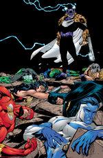 Prometheus defeats the Justice League