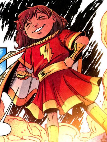 Mary Batson (Magic of Shazam)