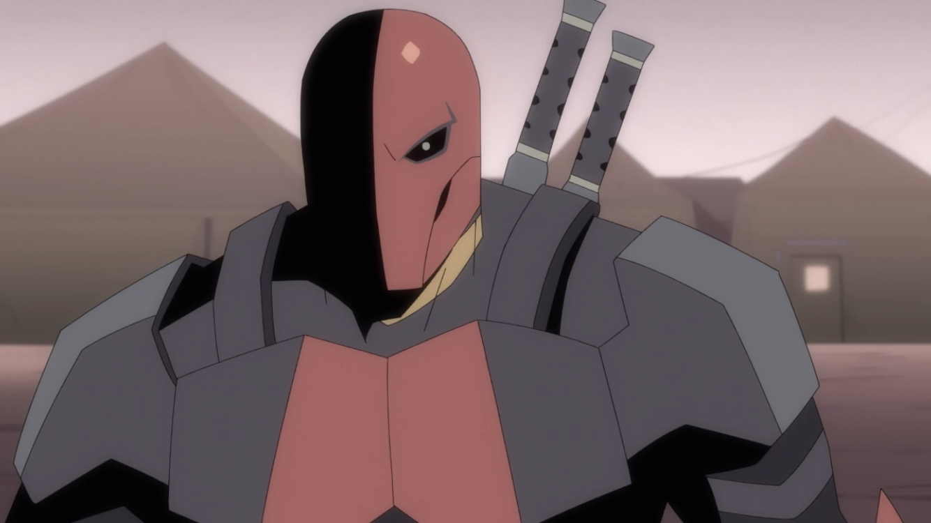 Slade Wilson (Deathstroke: Knights & Dragons)