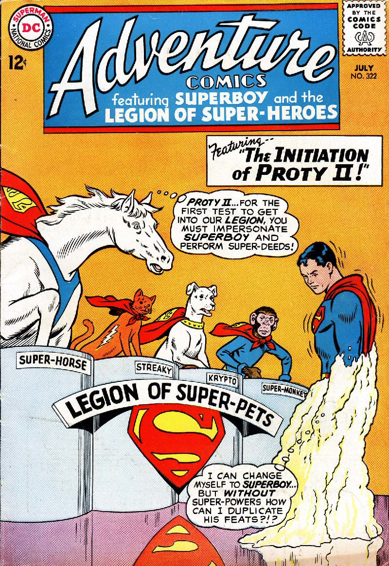 Adventure Comics Vol 1 322