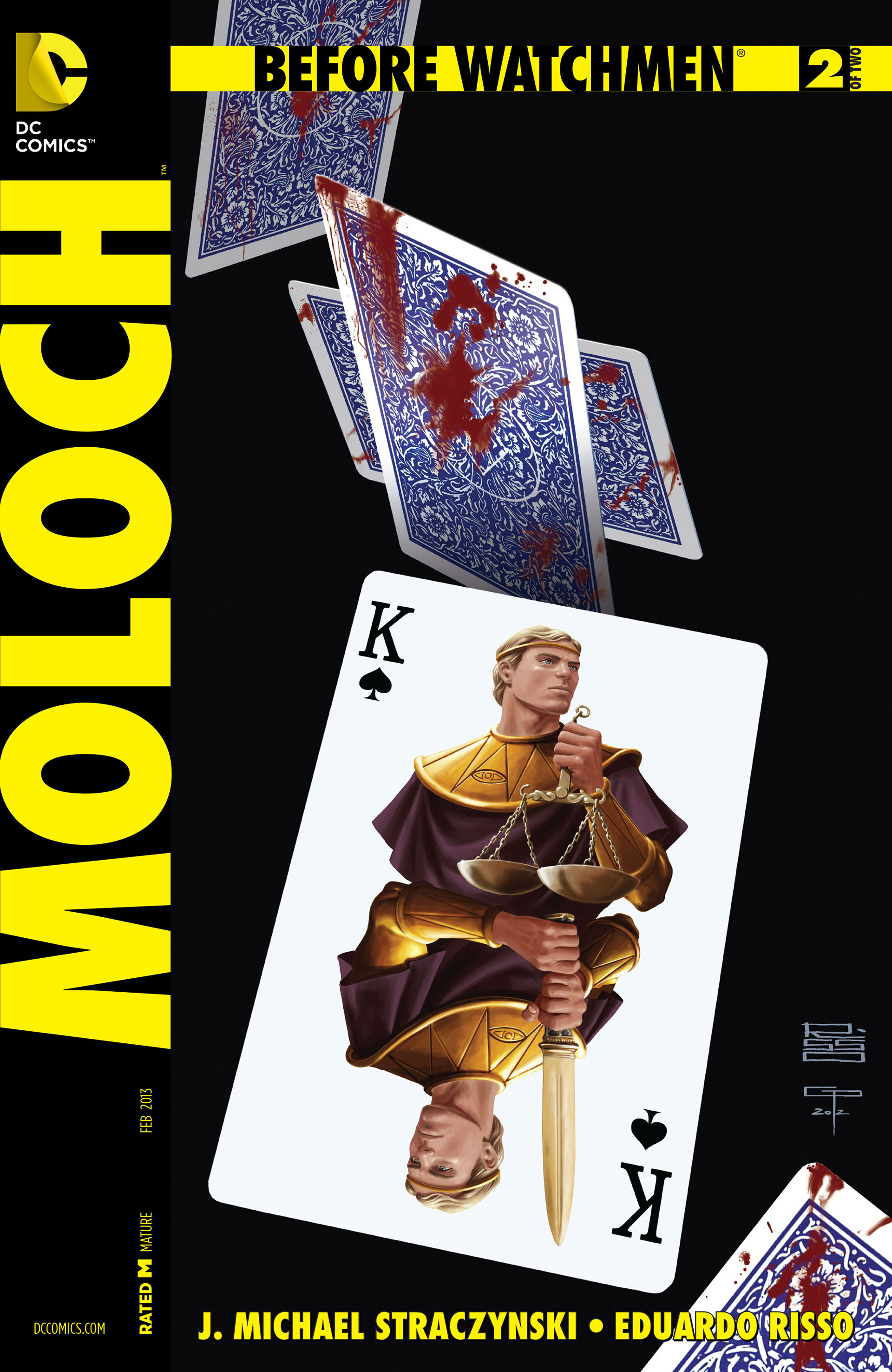 Before Watchmen: Moloch Vol 1 2