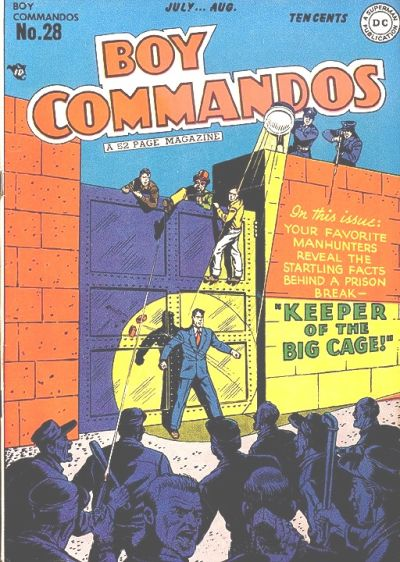 Boy Commandos Vol 1 28