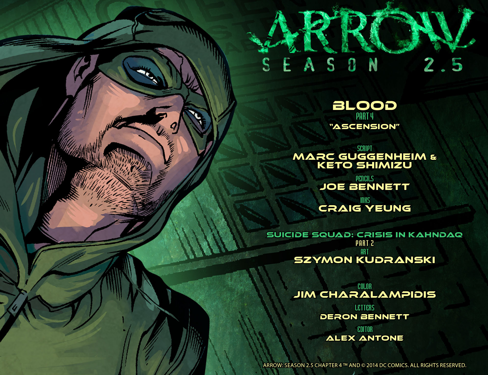 Arrow: Season 2.5 Vol 1 4 (Digital)