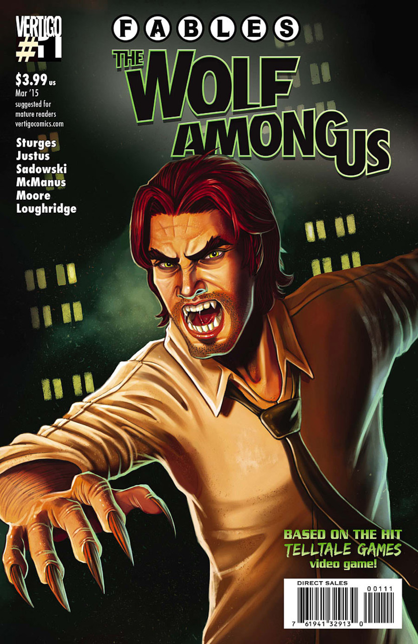 Fables: The Wolf Among Us Vol 1