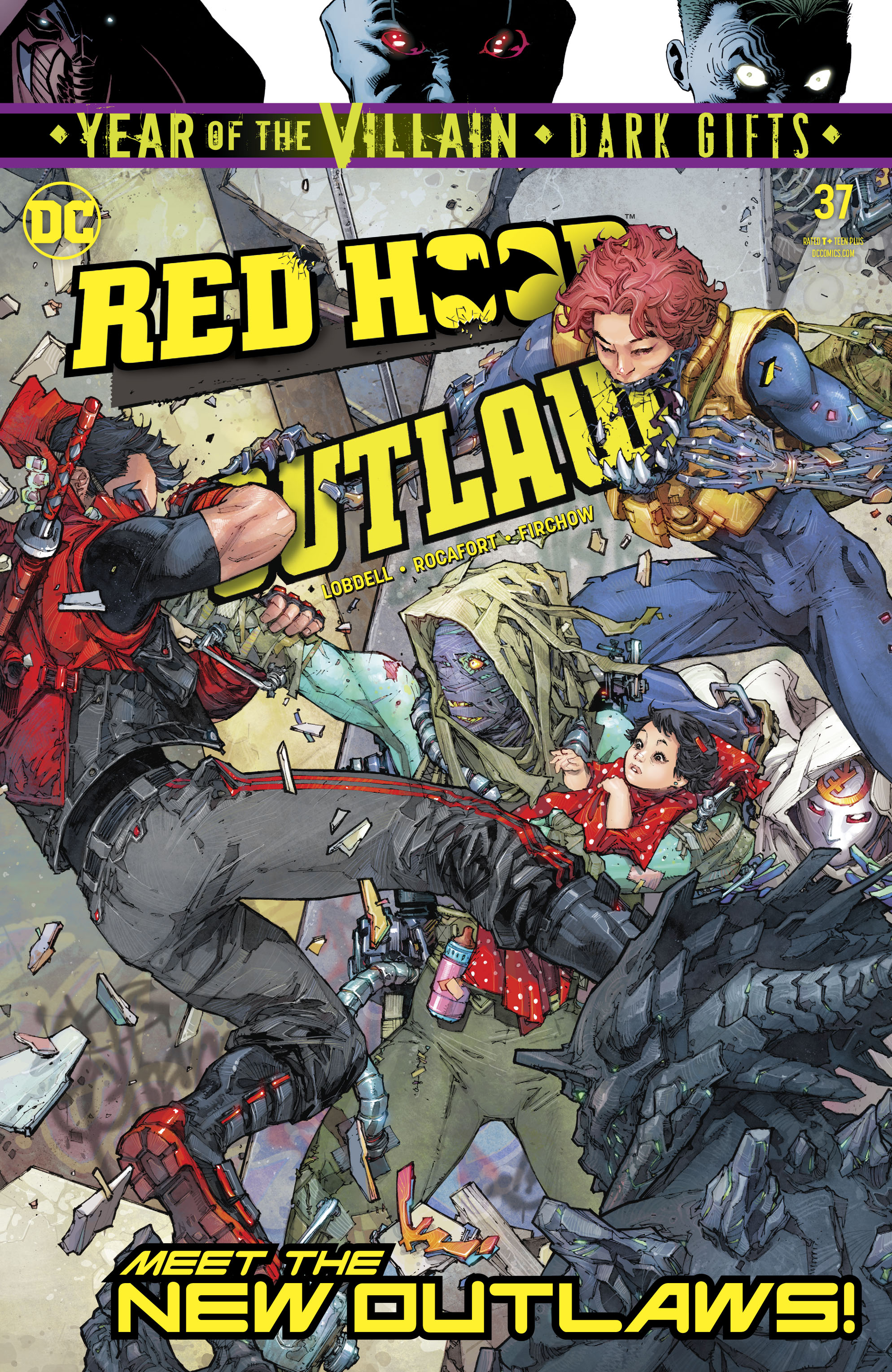 Red Hood: Outlaw Vol 1 37