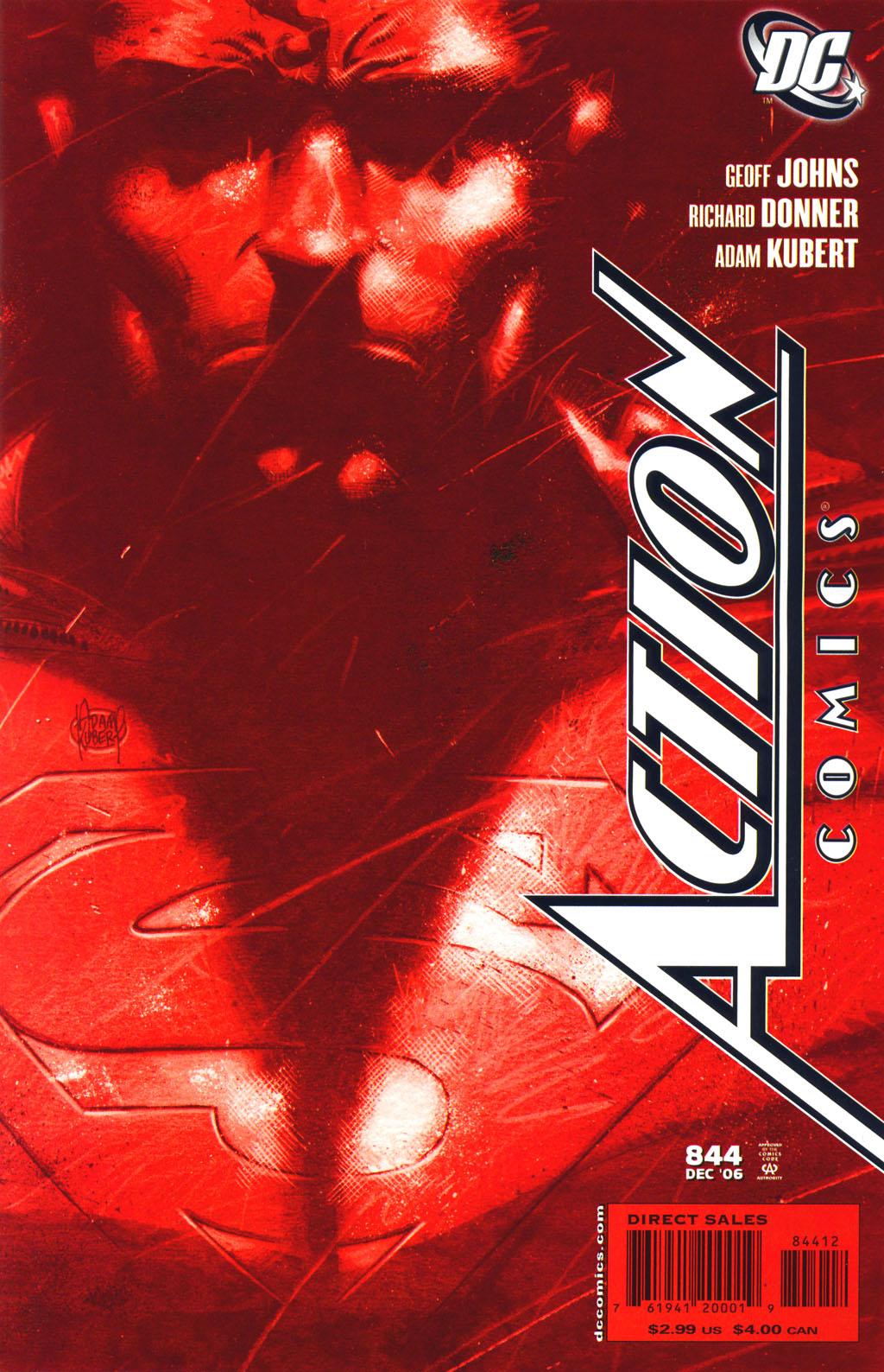 Action Comics Vol 1 844 Second Printing Variant.jpg