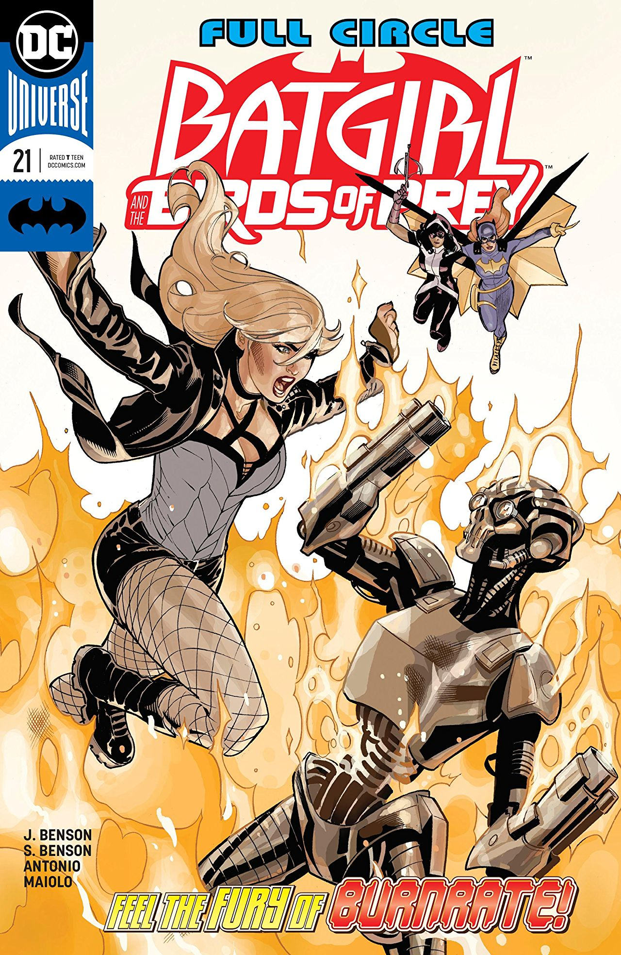 Batgirl and the Birds of Prey Vol 1 21