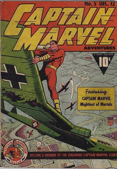 Captain Marvel Adventures Vol 1 5