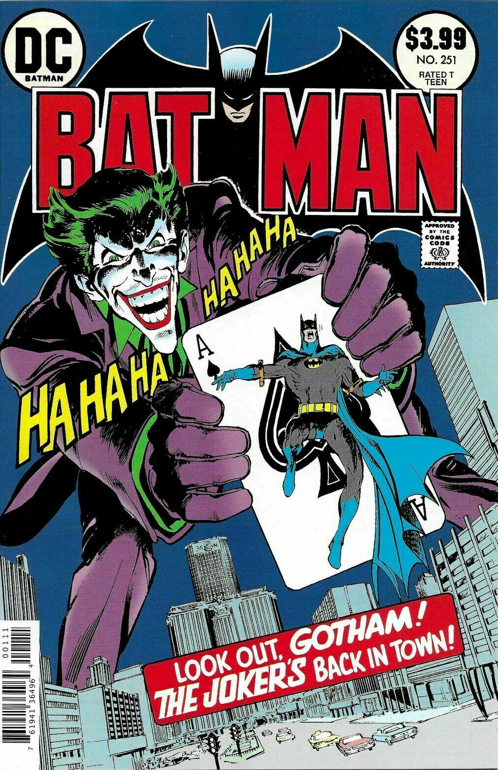 Facsimile Edition: Batman Vol 1 251