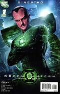 Green Lantern Movie Prequel Sinestro Vol 1 1